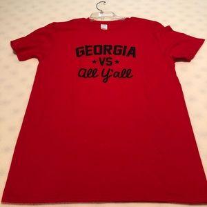 Tops - Georgia bulldog T-shirt
